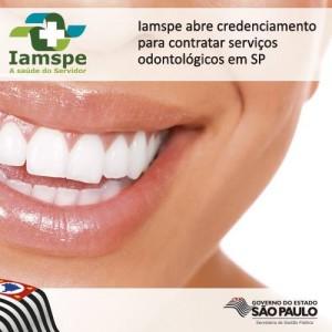 Iamspe oferecerá plano odontológico à servidores