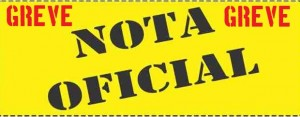 GREVE: Nota da reunião deliberativa da categoria do dia 21/Jul