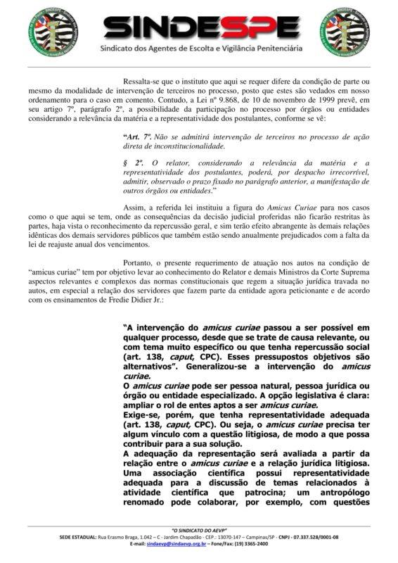 amicus curiae petição - Assinado-2