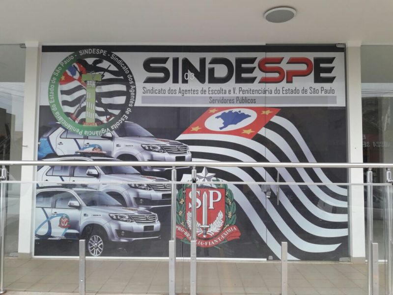 Fachada da nova sub-sede regional do Sindespe em Andradina
