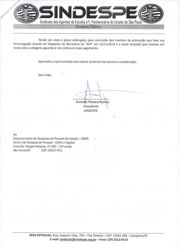 Ofício 21-2020- Francisco Prieto Gil CDPe-1 - DDPE - Sefaz - pagamento promoção por antiguidade AEVP 2018 pag2